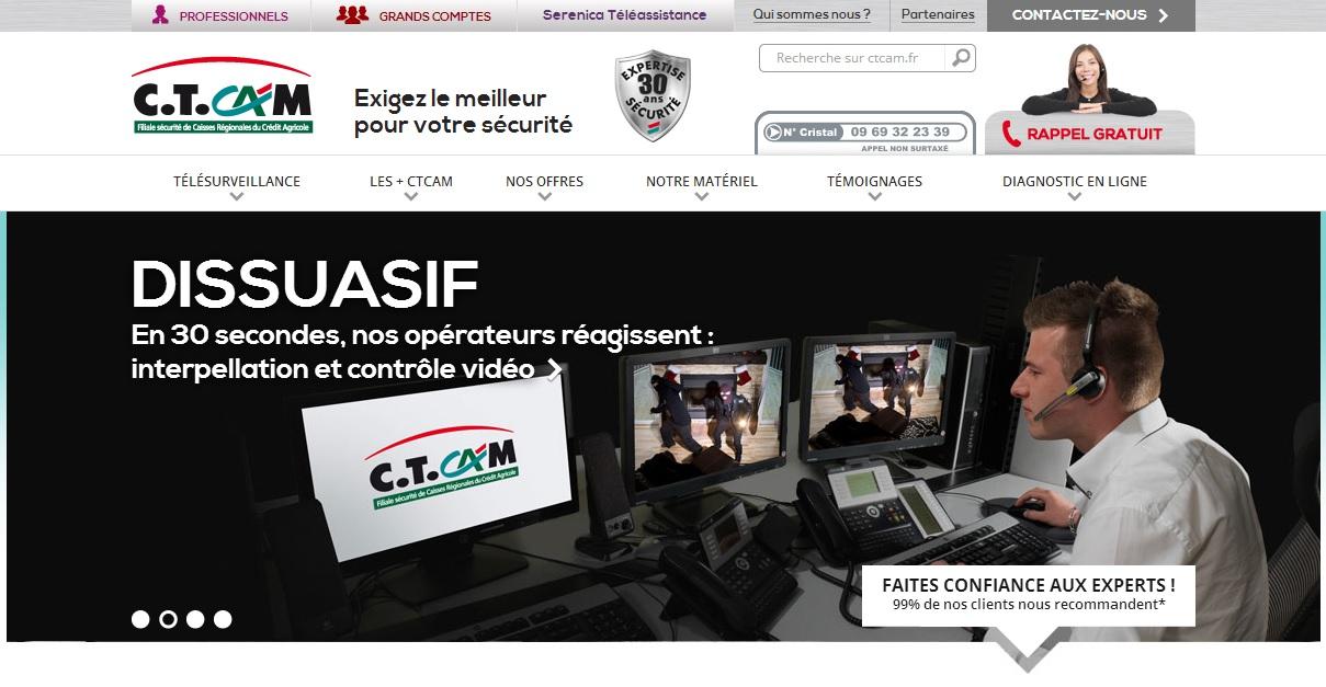 Ctcam : télésurveillance