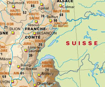 Frontière franco-suisse